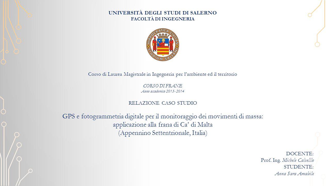 DOCENTE: Prof.Ing.