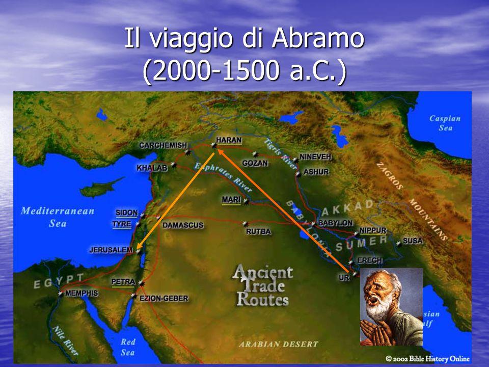 Il viaggio di Abramo (2000-1500 a.C.)
