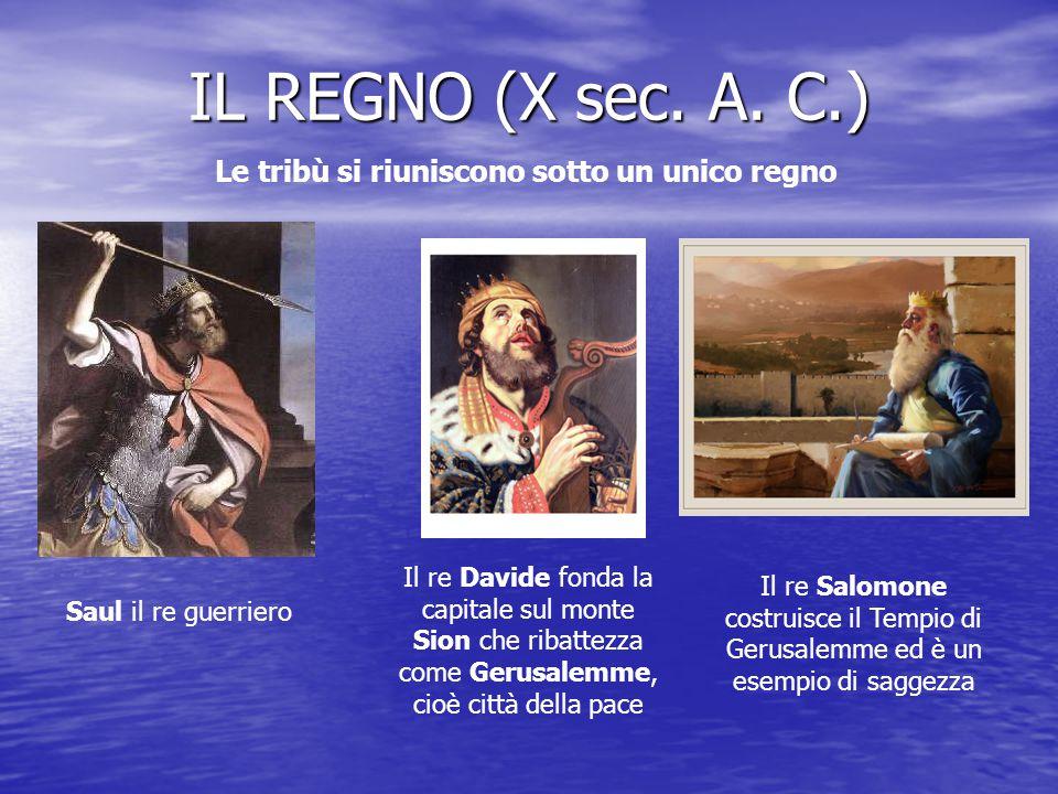 IL REGNO (X sec.A.