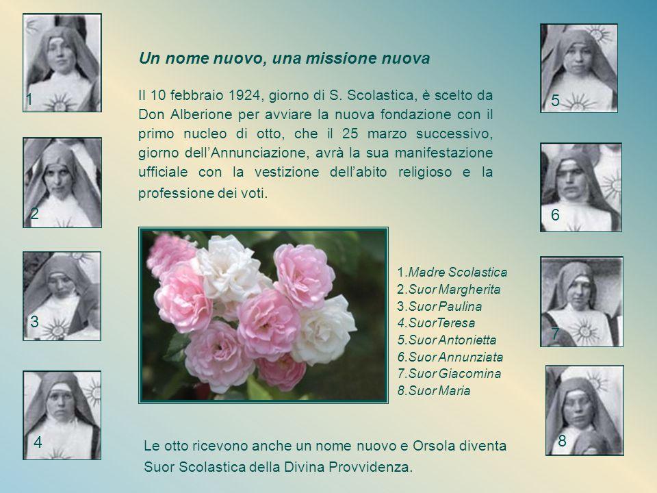 E' scelta come capocordata e, a gennaio 1924, don Alberione la incarica di individuare tra le giovani aspiranti, in comunione con Maestra Tecla Merlo,