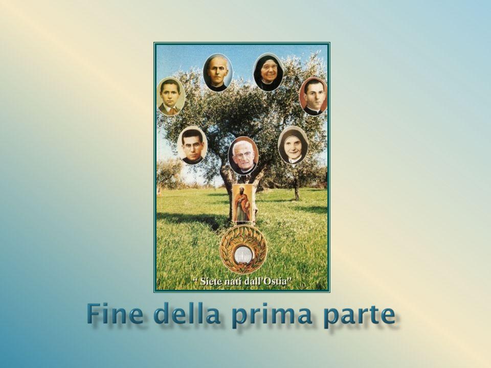 E' responsabile della nuova famiglia che sorge accanto a quella già consolidata delle Figlie di S. Paolo, guidate dalla Venerabile Tecla Merlo che le