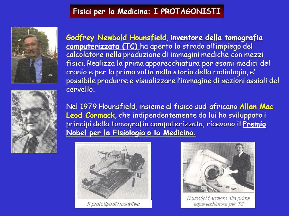 Godfrey Newbold Hounsfield, inventore della tomografia computerizzata (TC) ha aperto la strada all'impiego del calcolatore nella produzione di immagin