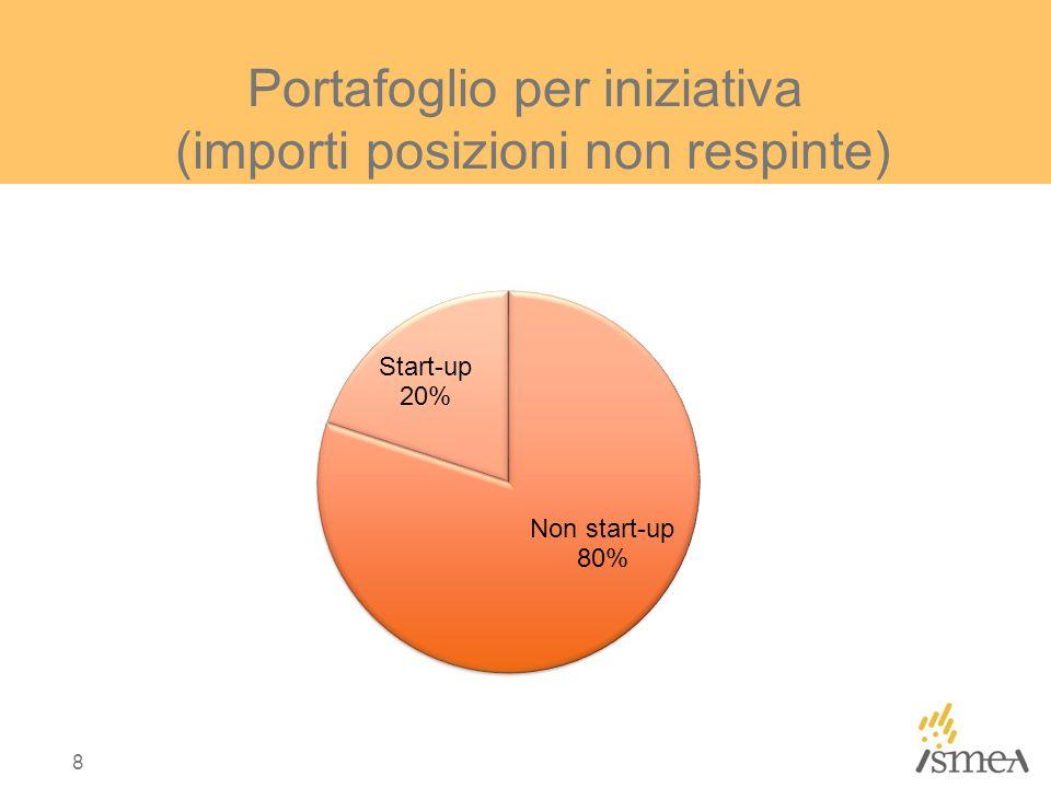 Portafoglio per iniziativa (importi posizioni non respinte) 8