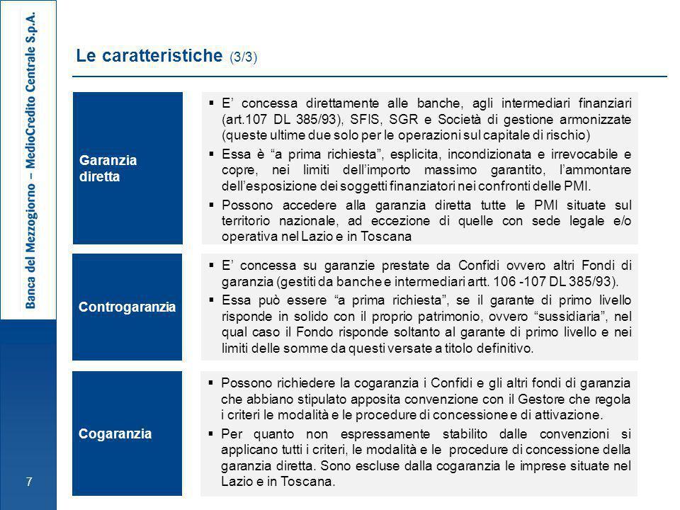 38 Tipologie di intervento e Soggetti richiedenti  Confidi;  Altri Fondi di garanzia gestiti da Banche, o Intermediari ex artt.