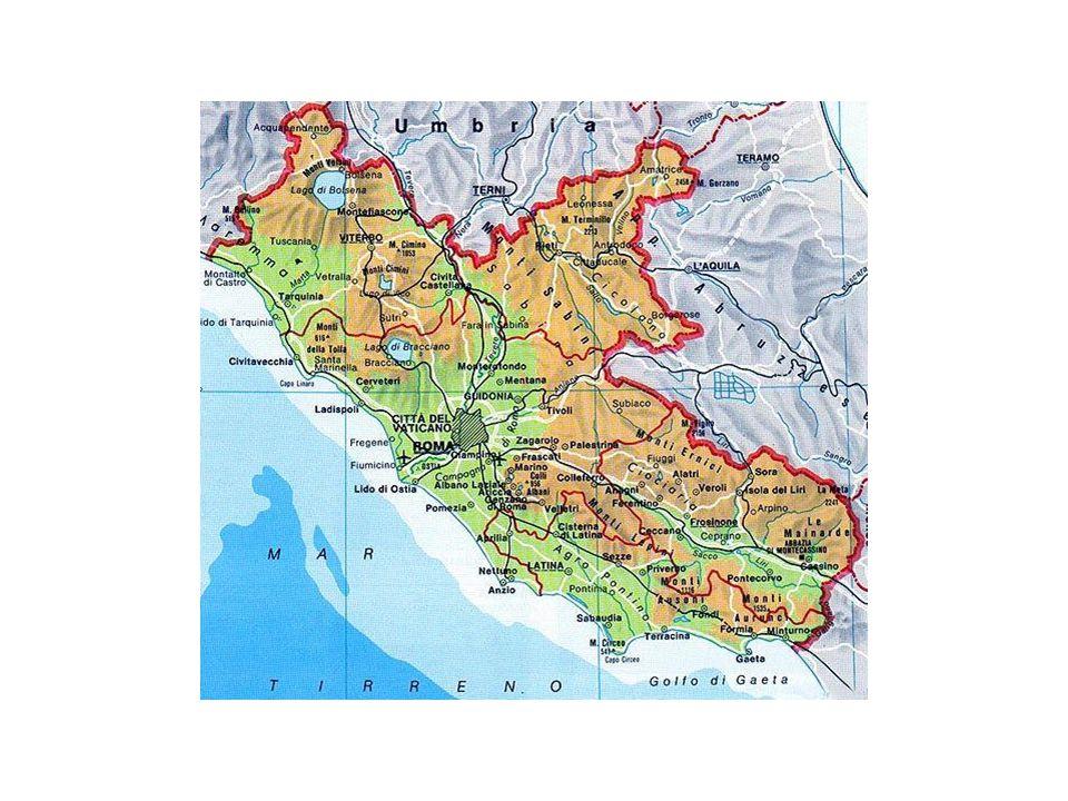 Lazio – Superficie forestale Fonte: Rielaborazione SIAN – INEA su dati AGRIT-POPOLUS (MIPAAF)