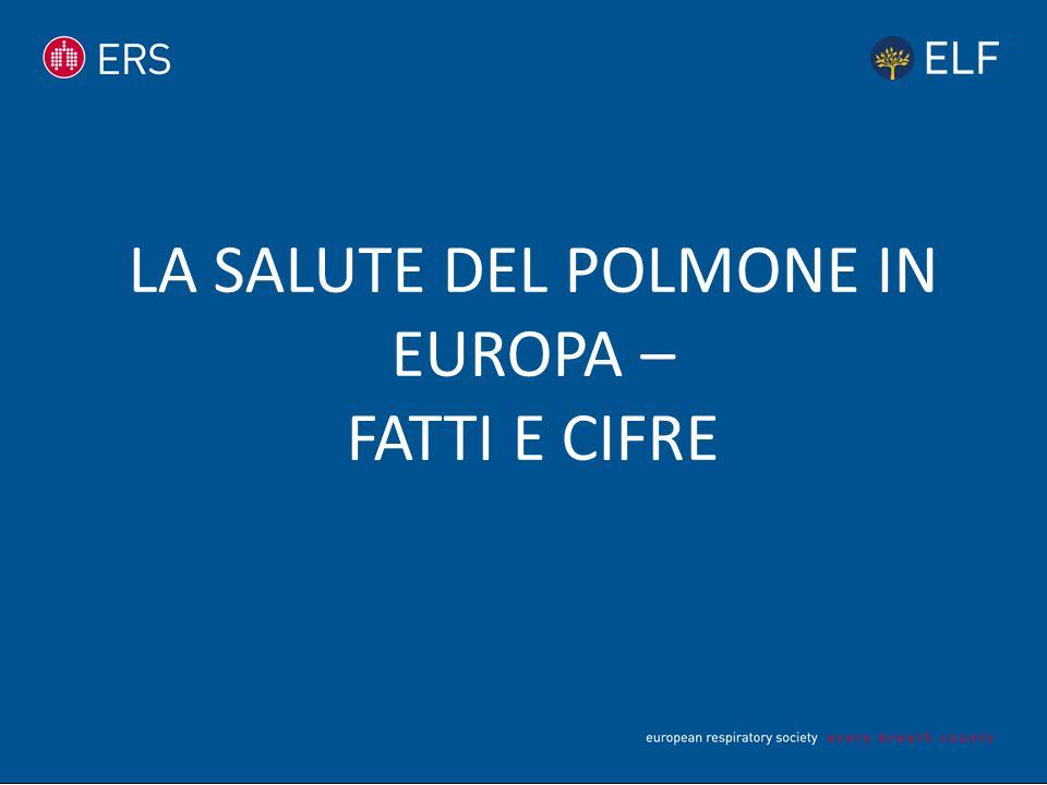LA SALUTE DEL POLMONE IN EUROPA – FATTI E CIFRE