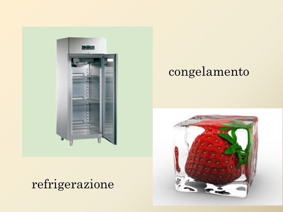 refrigerazione congelamento