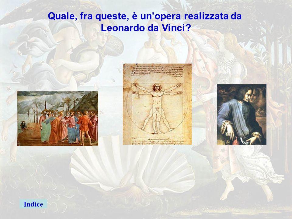 michelang5giusta Quale, fra queste, è un'opera realizzata da Michelangelo? La flagellagione di Cristo Piero della Francesca Urbino Facciata della chie