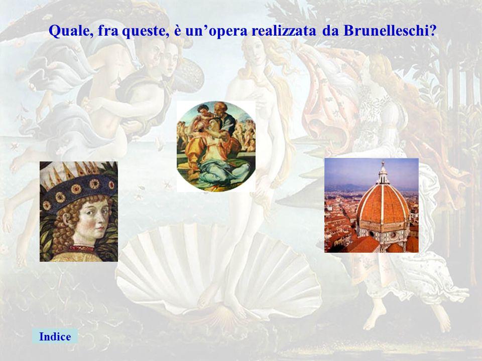 botticelligiusta Quale, fra queste, è un'opera realizzata da Botticelli? La nascita di Venere Botticelli Firenze L'Ospedale degli innocenti Brunellesc