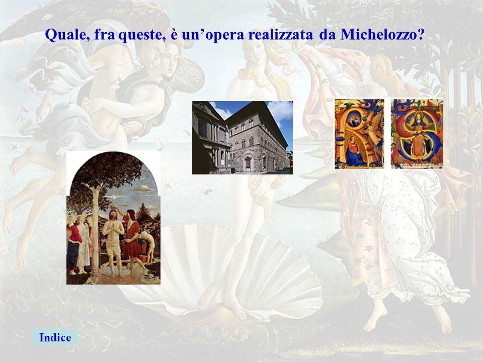 Brunelleschigiusta Quale, fra queste, è un'opera realizzata da Brunelleschi? Indice Ritratto di Lorenzo Benozzo Firenze La Sacra Famiglia Michelangelo