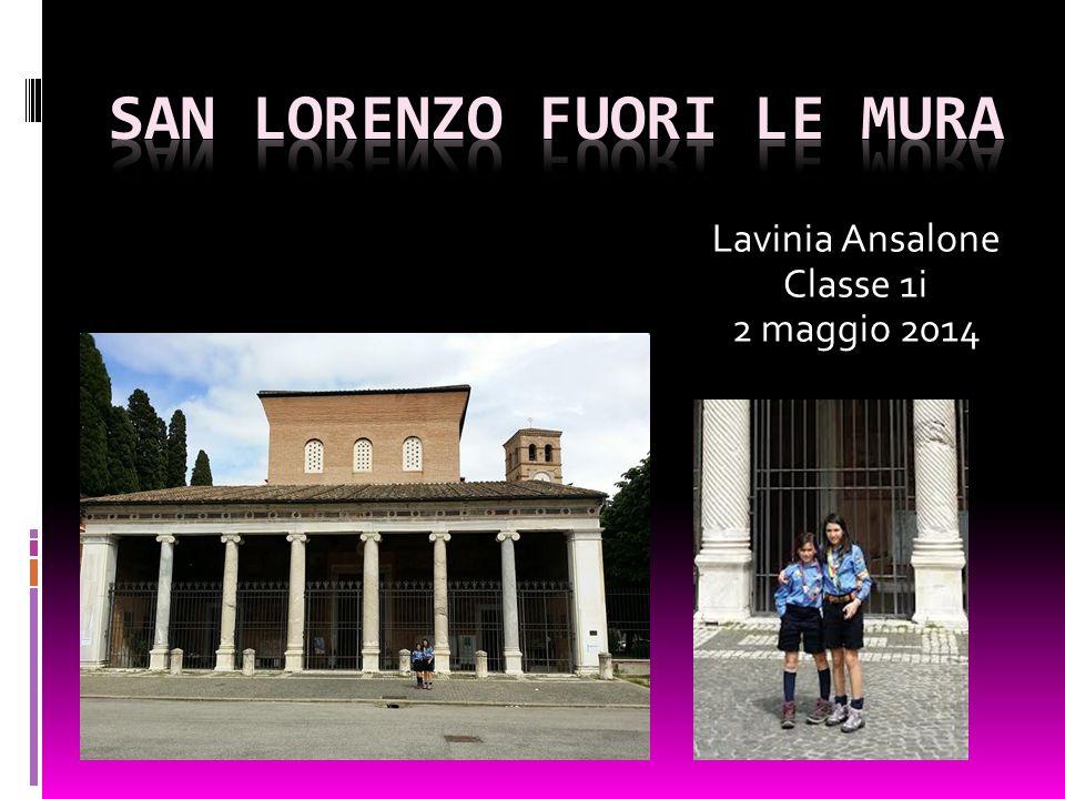 Lavinia Ansalone Classe 1i 2 maggio 2014