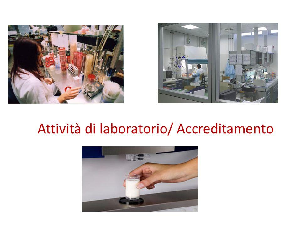 Attività di laboratorio/ Accreditamento