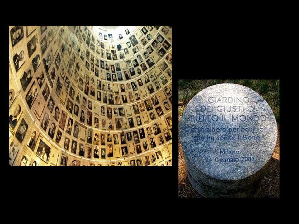Ad ogni Giusto viene dedicata, oltre ad un posto nel Giardino dei Giusti - museo di Gerusalemme -, la piantumazione di un albero, simbolo di ricordo eterno secondo la tradizione ebraica C'è un albero per ogni uomo che ha scelto il Bene