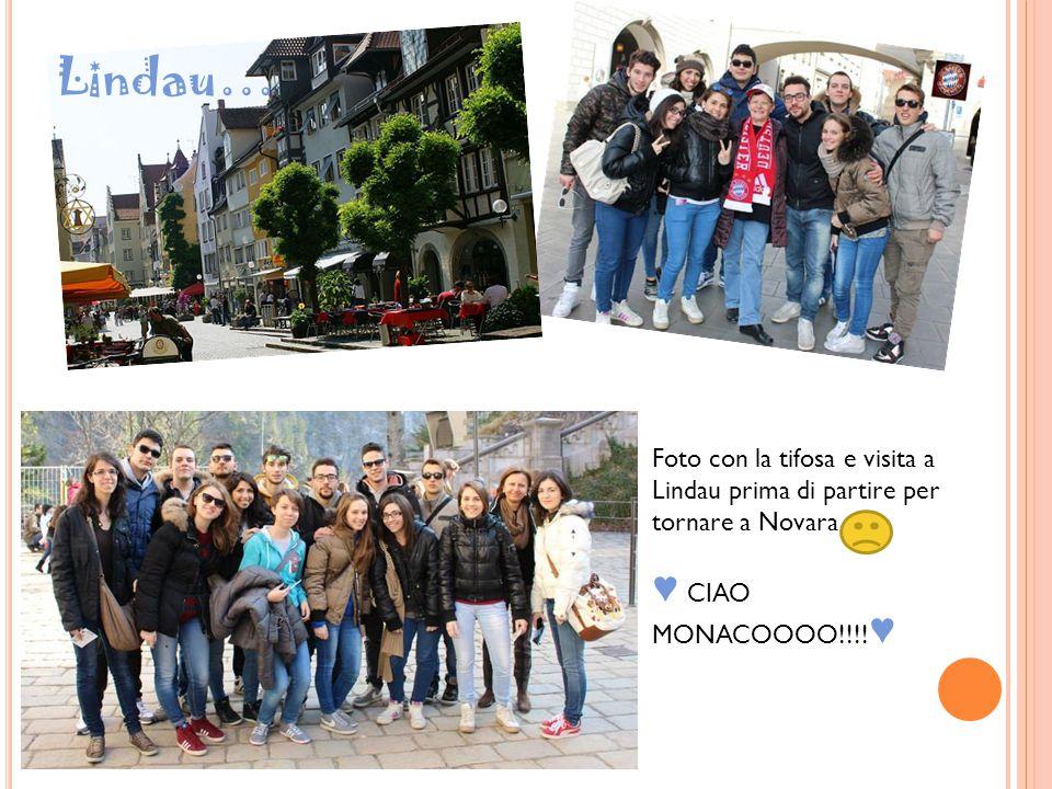 Foto con la tifosa e visita a Lindau prima di partire per tornare a Novara ♥ CIAO MONACOOOO!!!! ♥ Lindau…