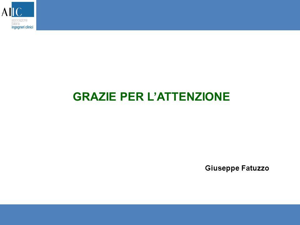 GRAZIE PER L'ATTENZIONE Giuseppe Fatuzzo