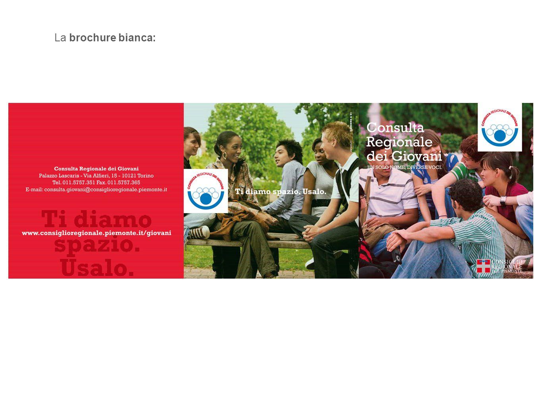 La brochure bianca: