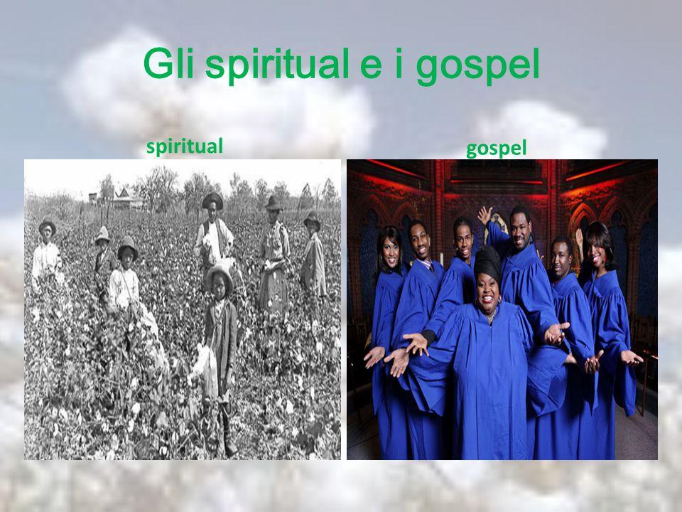 Gli spiritual e i gospel spiritual gospel