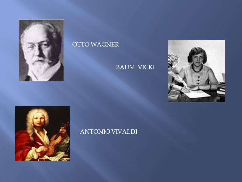 OTTO WAGNER BAUM VICKI ANTONIO VIVALDI