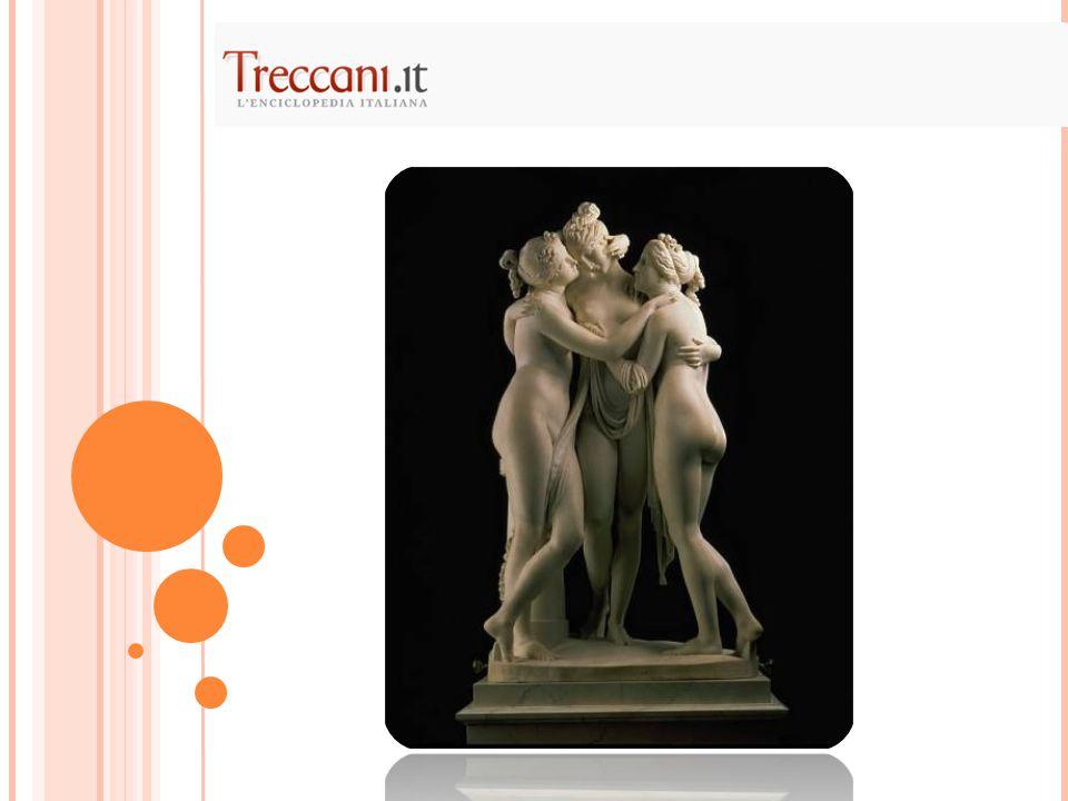 Gruppo marmoreo, scolpito negli anni 1813- 17, di cm 182 di raggio, oggi collocato a San Pietroburgo, al Museo dell'Ermitage.