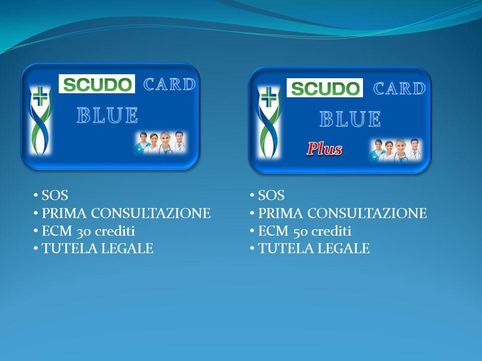 SOS PRIMA CONSULTAZIONE ECM 30 crediti TUTELA LEGALE SOS PRIMA CONSULTAZIONE ECM 50 crediti TUTELA LEGALE