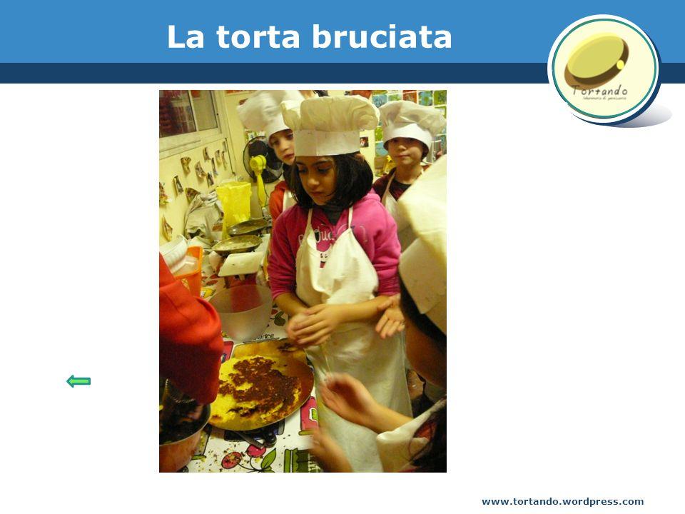 www.tortando.wordpress.com La torta bruciata