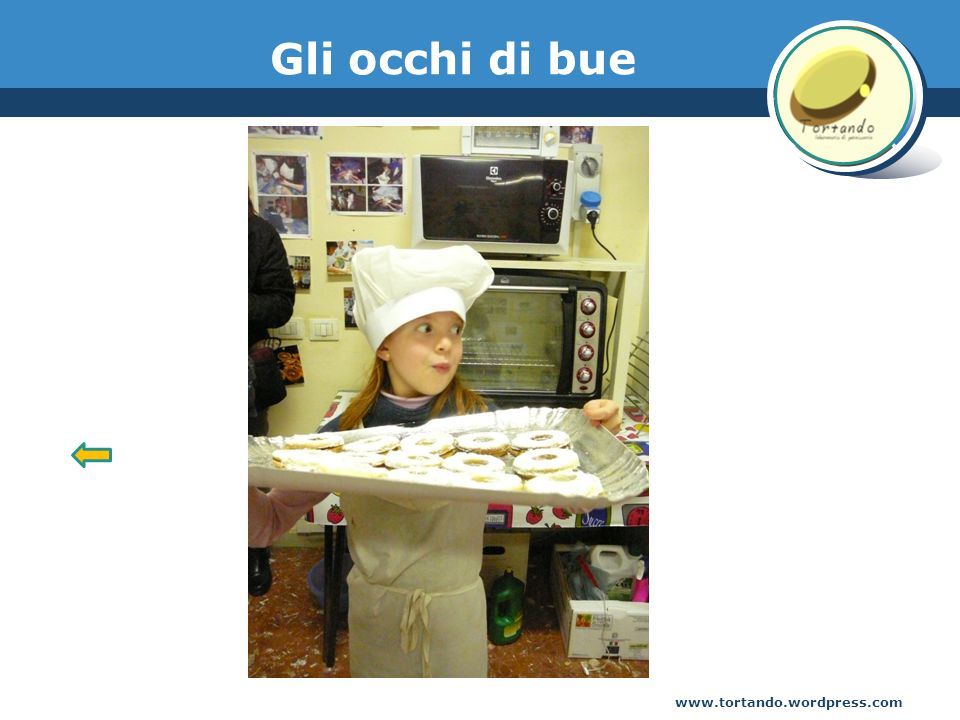 www.tortando.wordpress.com Gli occhi di bue