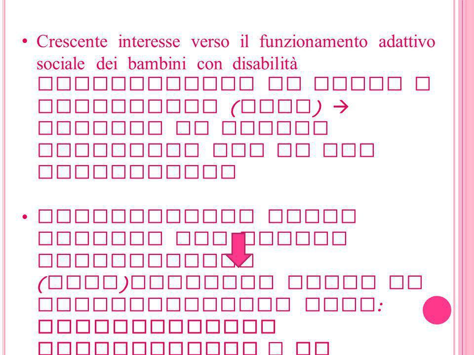 LO STUDIO 143 bambini (101 maschi e 42 femmine ) tra gli 8 e i 12 anni divisi in 4 gruppi : - MBID + problemi di comportamento - MBID ( disabilità intellettive ) - DBD ( disordine di comportamento dirompente ) - Sviluppo tipico