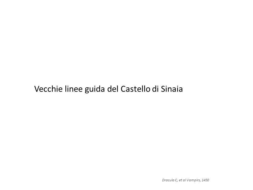 Vecchie linee guida del Castello di Sinaia Dracula C, et al Vampirs, 1450