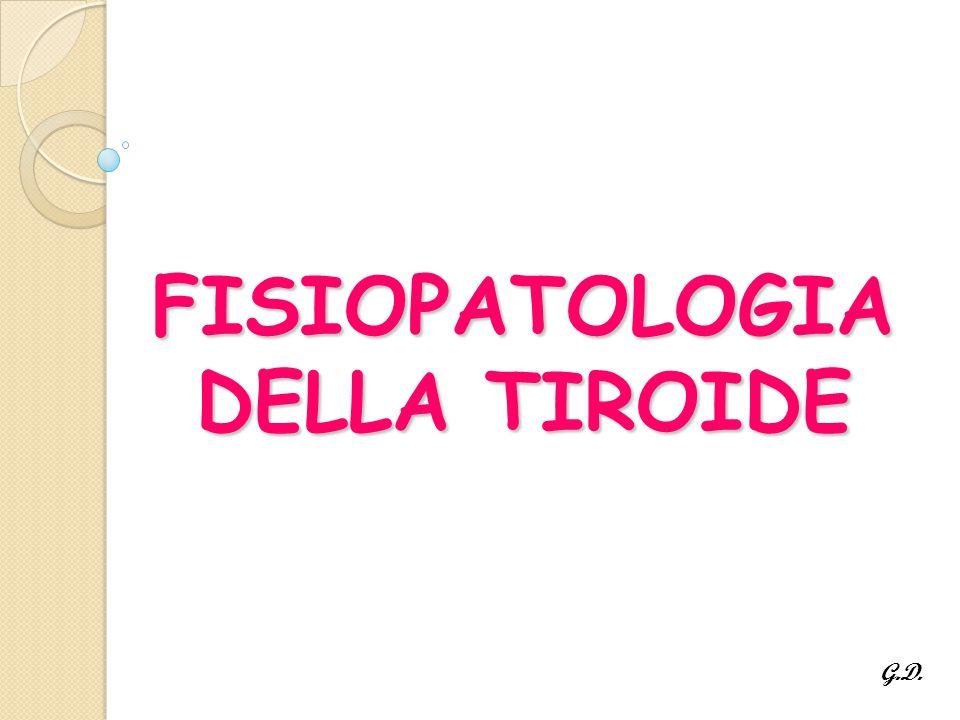 FISIOPATOLOGIA DELLA TIROIDE G.D.