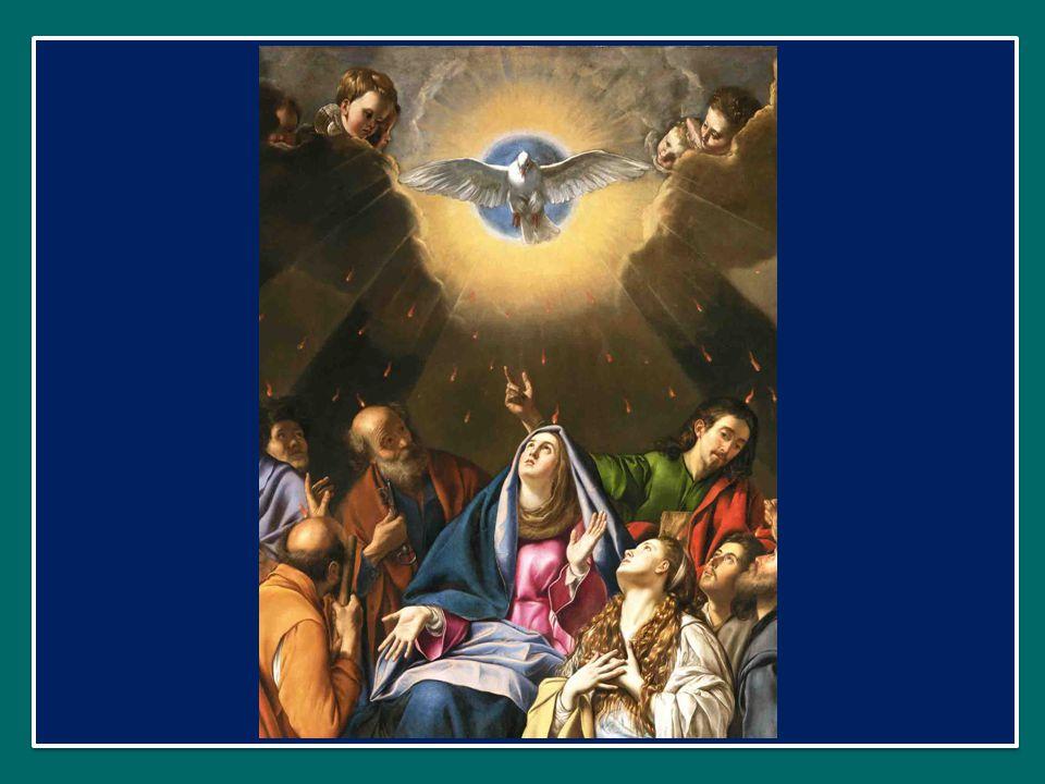Qui díceris Paráclitus, altíssimi donum Dei, O dolce consolatore, dono del Padre altissimo, fons vivus, ignis, cáritas, et spiritális únctio. acqua vi