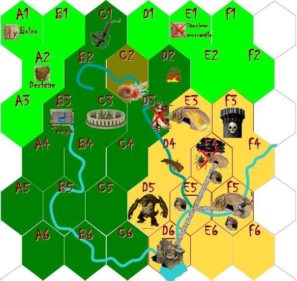 Stazione mercantile Dechtire B2 Tempio BolzoA1 A2 A3 A4 A5 A6 B1 B3 B4 B5 C1 C2 C3 C4 C5 C6 D1 D2 D3 D5 E1 E2 E4 E6 F1 F2 F3 F4 F5 B6 D6F6 D4 E5 E3