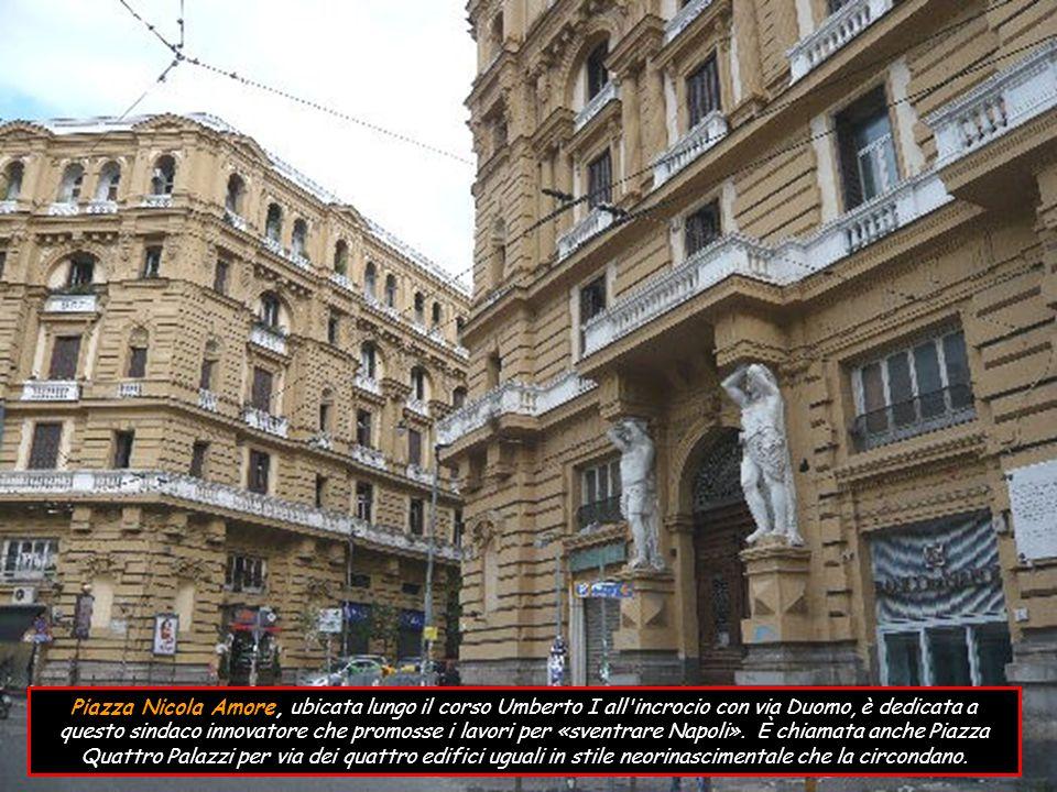 Il Palazzo Salerno di interesse storico-monumentale, edificato alla fine del 18° sec.