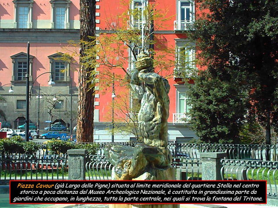 Piazza Trieste e Trento (già Piazza San Ferdinando) è un nodo viario di grande rilevanza del centro storico; qui convergono via Toledo, via Chiaia e via San Carlo; nonché è adiacente alla più famosa, piazza del Plebiscito.