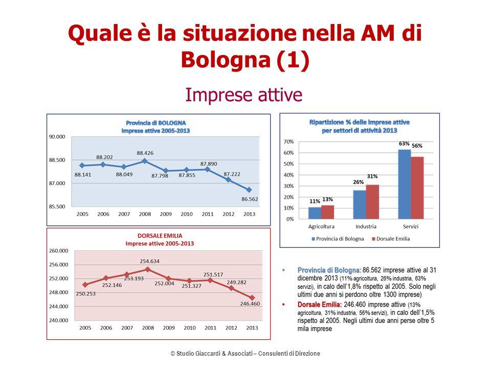 Quale è la situazione nella AM di Bologna (1) © Studio Giaccardi & Associati – Consulenti di Direzione 5