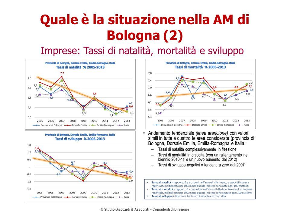 Quale è la situazione nella AM di Bologna (2) © Studio Giaccardi & Associati – Consulenti di Direzione 6