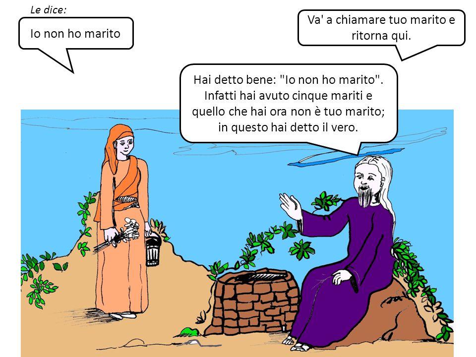 I 5 MARITI (Gv 4, 16-26) LA SAMARITANA PARTE SECONDA by Martina Ciabatti