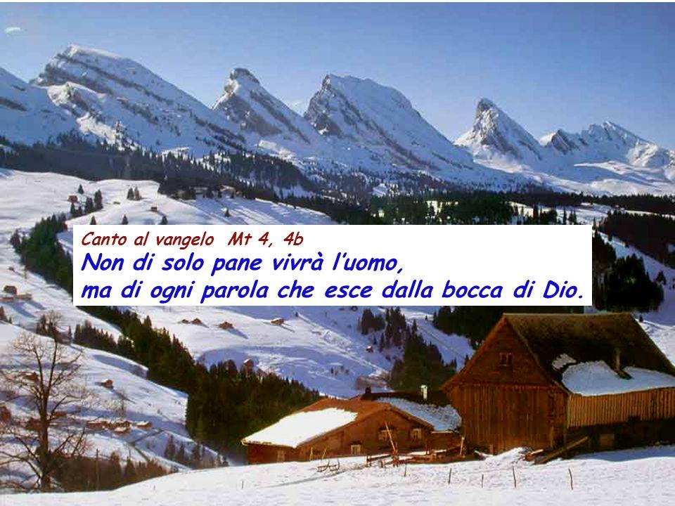Rm 5,12-19 Fratelli, come a causa di un solo uomo il peccato è entrato nel mondo e, con il peccato, la morte, così in tutti gli uomini si è propagata