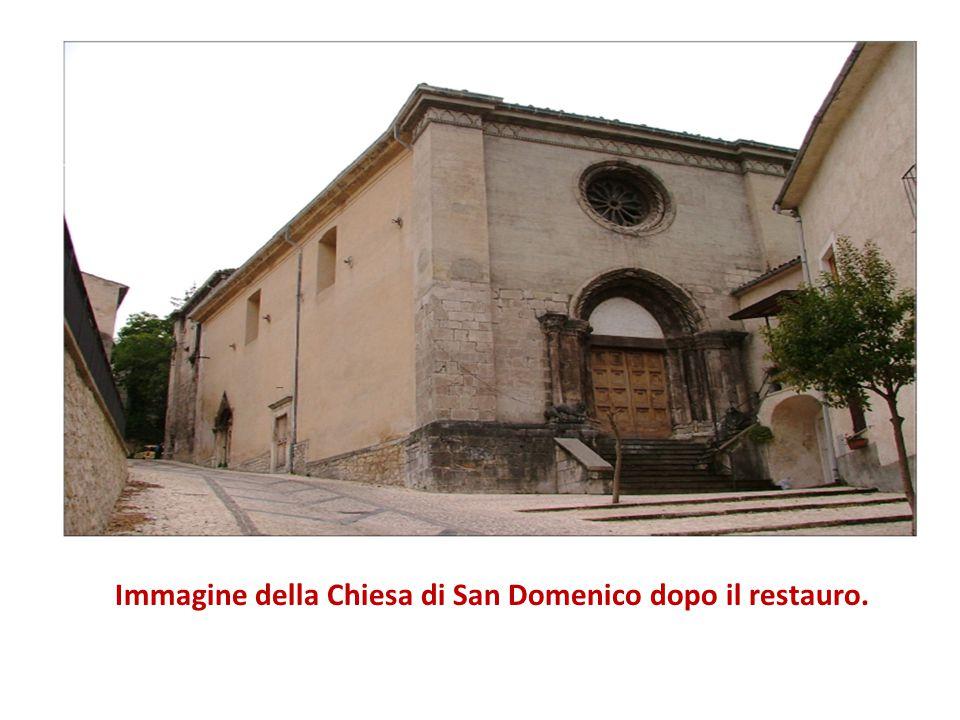 Immagine della Chiesa di San Domenico dopo il restauro.