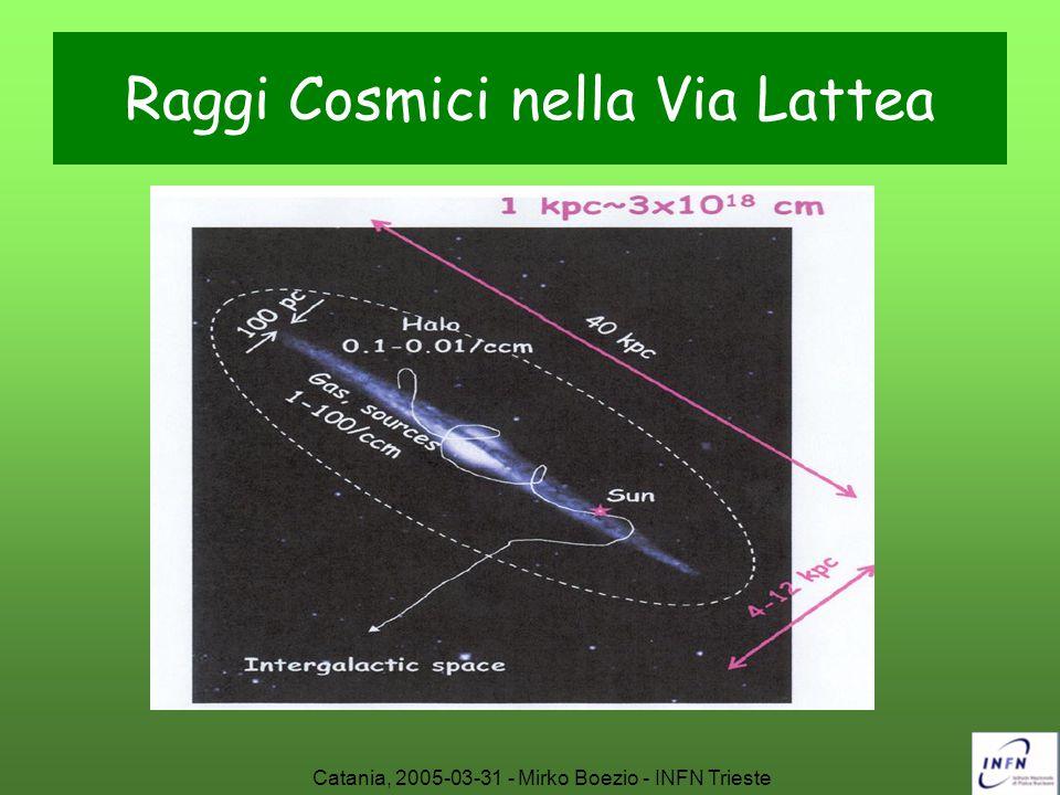 Catania, 2005-03-31 - Mirko Boezio - INFN Trieste Futuri esperimenti: PAMELA L'apparato è stato completamente assemblato e testato presso la sezione INFN di Roma2.