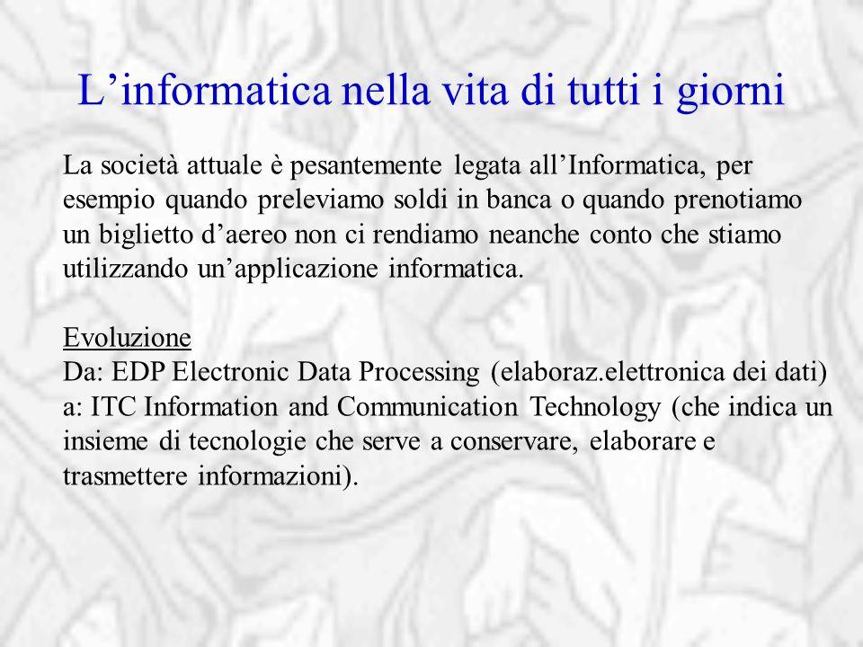 ITC e new economy Esempi di sinergie tra informatica e comunicazione New economy: nuovo tipo di economia resa possibile dallo sviluppo di Internet e del commercio elettronico.