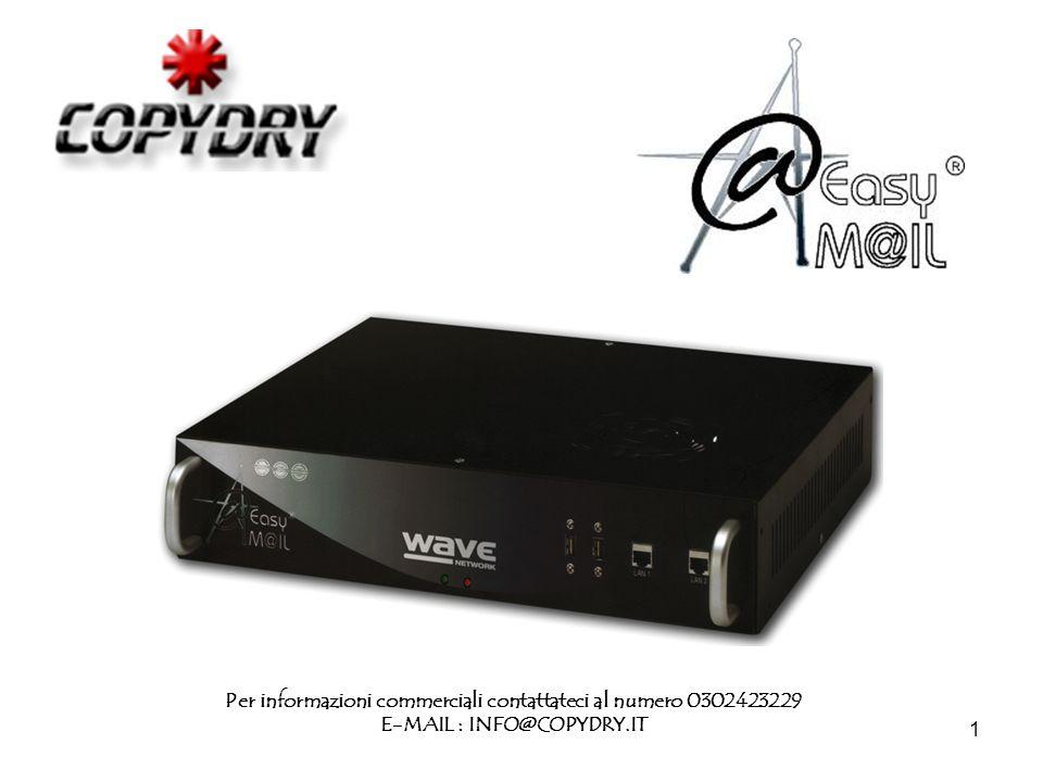 1 Per informazioni commerciali contattateci al numero 0302423229 E-MAIL : INFO@COPYDRY.IT