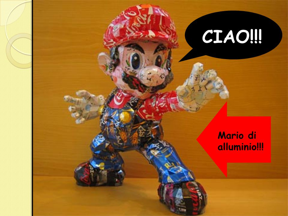 CIAO!!! Mario di alluminio!!!