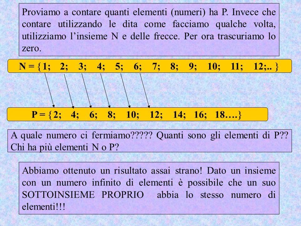N =  1; 2; 3; 4; 5; 6; 7; 8; 9; 10; 11; 12;.. P =  2; 4; 6; 8; 10; 12; 14; 16; 18….