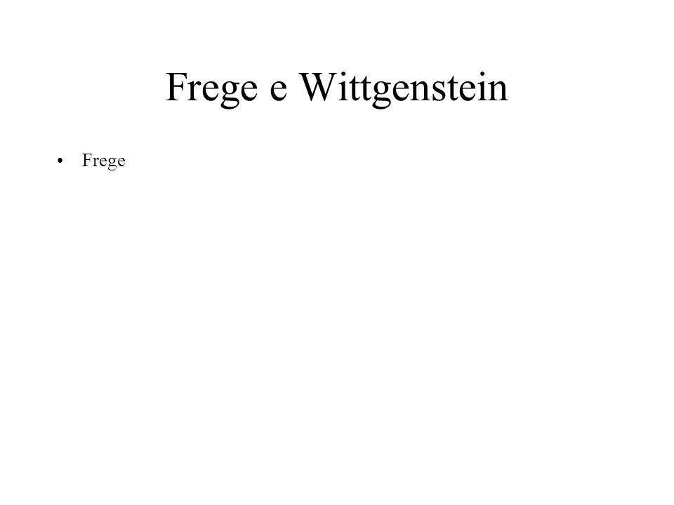 Segni diversi Il rapporto di verità è indicato da Frege con questo segno (l'affermazione) Invece se vogliamo solo dare senso dobbiamo mettere solo una riga
