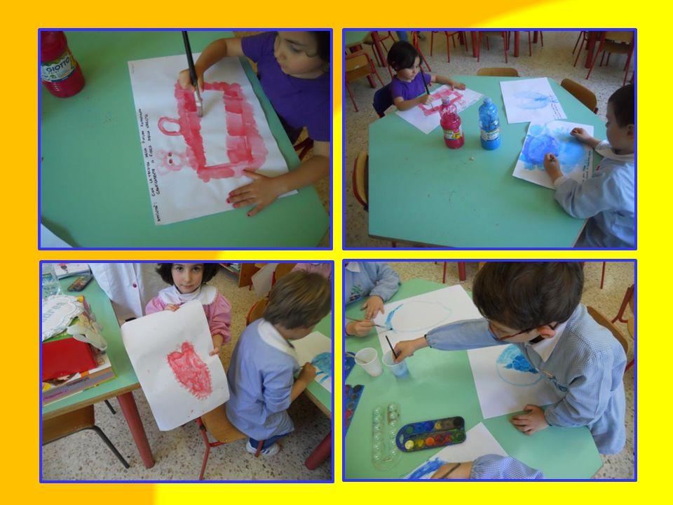 Rappresentazioni individuali di fiocchi sulla nascita con la tecnica degli acquerelli.