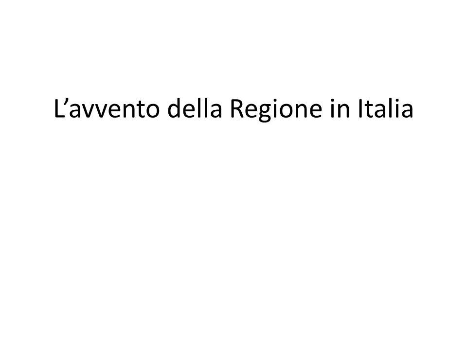 Per le prime tre stagioni del dibattito sul decentramento in Italia non c'è dunque da fare un bilancio lusinghiero.