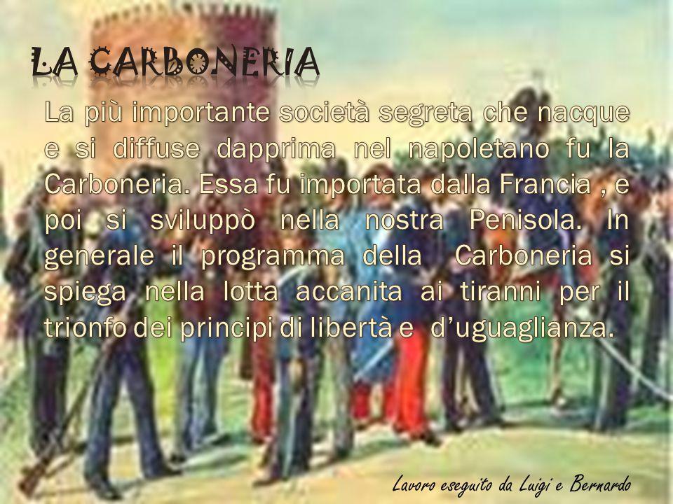 Il 9 Novembre del 1860 Garibaldi, s' imbarcò per l'isola di Caprera.