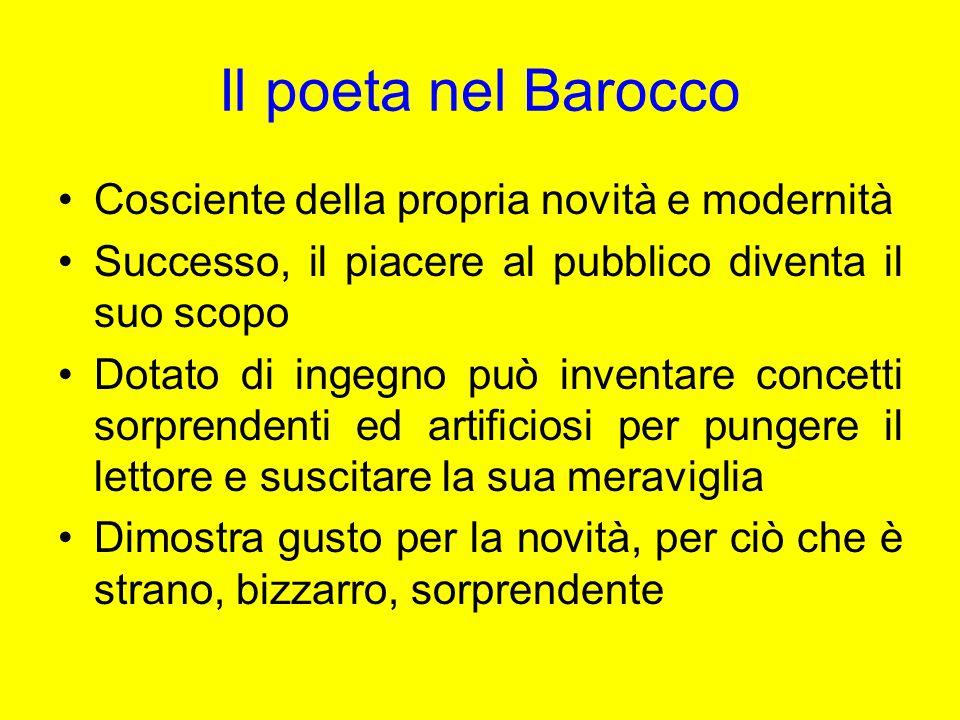 Giovan Battista Marino Caposcuola del Barocco in Italia Fondatore del marinismo