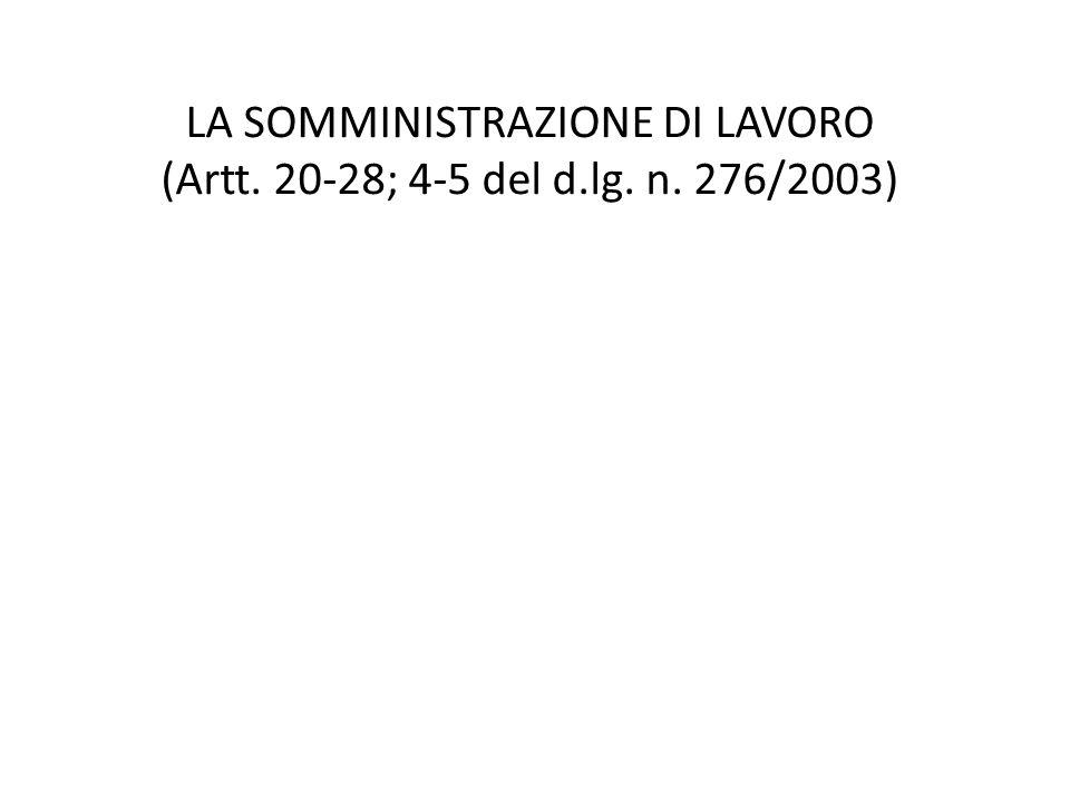 Dal divieto di intermediazione (art.1, legge n.