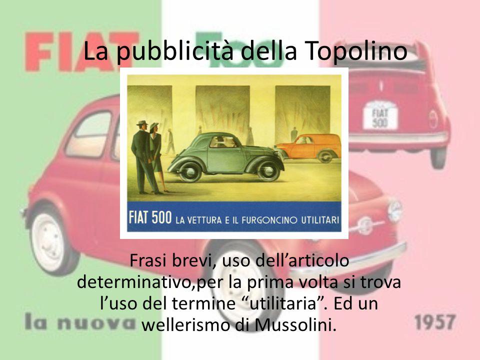 1957: La nascita della 500 Nel 1957 nasce finalmente la 500, realizzando così il progetto Fiat di un'auto per tutti.